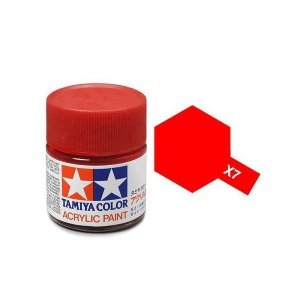 Tamiya 81007 Acryl X-7 Red 23ml
