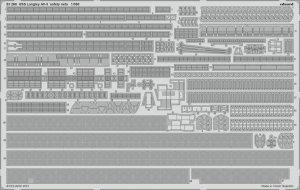 Eduard 53268 USS Langley AV-3 safety nets TRUMPETER 1/350
