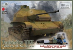 IBG E3501 Tankietka TKS z NKM wz.38 FK-A 20mm (1:35)