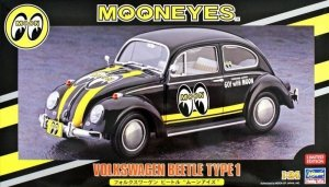 Hasegawa 20338 Volkswagen Beetle Moon Eyes 1/24