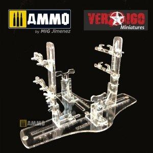 Vertigo VMP008 Biplane plastic jig stand & transport EVO BI 3224