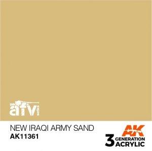 AK-Interactive AK 11361 New Iraqi Army Sand 17ml