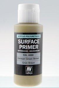Vallejo 73606 Surface Primer German Green Brown 60ml
