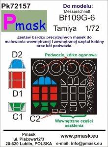 P-Mask PK72157 Bf109G-6 (Tamiya) 1/72