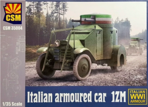 Copper State Models 35-005 Italian Armoured Car 1ZM 1/35