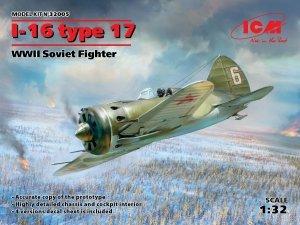 ICM 32005 I-16 type 17, WWII Soviet Fighter 1/32