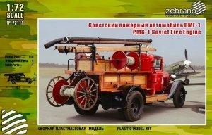 Zebrano 72111 PMG-1 Soviet Fire Engine 1/72