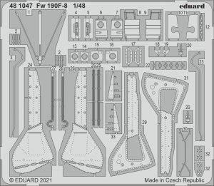 Eduard 481047 Fw 190F-8 EDUARD 1/48