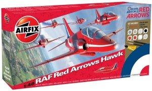 Airfix 50031A Red Arrows Hawk Gift Set 1/48