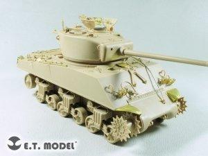 E.T. Model E35-293 U.S. M4A3(76)W Sherman Medium For Meng TS-043 Tank
