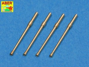 Aber A48 014 Set of 4 barrels for Japanese 20 mm Type 99 aircraft machine cannons (1:48)