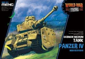 Meng Model WWT-013 World War Toons Panzer IV