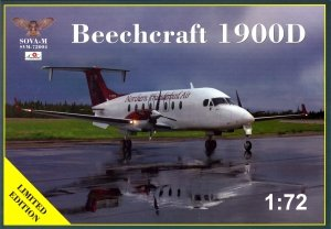 Sova 72004 Beechcraft 1900D 1/72
