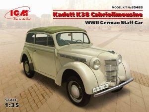ICM 35483 Kadett K38 Cabriolimousine 1/35