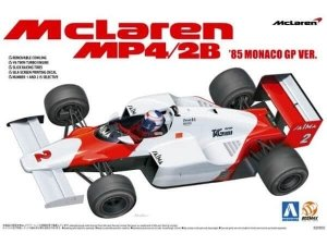 Beemax 20002 McLaren MP4/2B '85 MONACO GP VER. 1/20