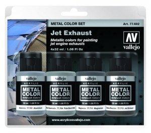 Vallejo 77602 Jet Exhaust 4 x 32ml