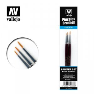 Vallejo Painter set (Round synthetic) (P54999)