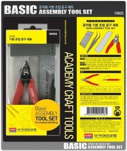 Academy 15925 Basic tool set - zestaw narzędzi