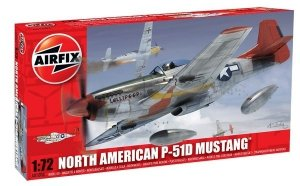 Airfix 01004 North American P-51D Mustang 1/72