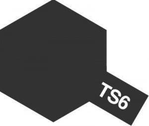Tamiya TS6 Matt Black (85006)