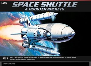 Academy 12707 SPACE SHUTTLE W/BOOSTER ROCKETS (1:288)