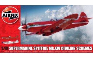 Airfix 05139 Supermarine Spitfire MkXIV Civilian Schemes 1/48