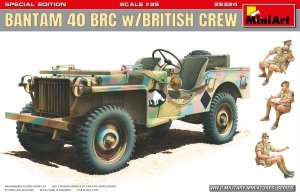 MiniArt 35324 BANTAM 40 BRC w/BRITISH CREW. SPECIAL EDITION 1/35