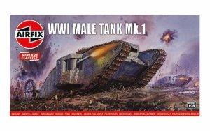 Airfix A01315V Vintage Classics - WWI Male Tank Mk.I 1:76