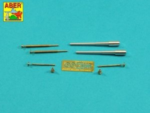 Aber 35L-278 Uzbrojenie do radzieckiego Sharotank; 2 x działo 37mm 2 x 12,7mm karabin maszynowy DShK M36 MiniArt 1/35