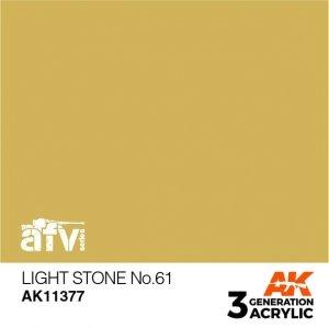 AK-Interactive AK 11377 Light Stone No.61 17ml