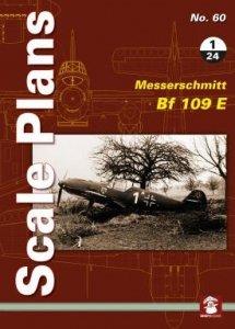 Stratus 58174 Scale Plans No. 60: Messerschmitt Bf 109 E 1/24