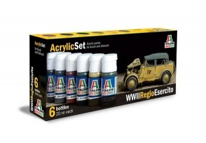 Italeri 441AP Regio Esercito (World War II) 6x20ml