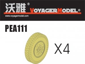 Voyager Model PEA111 Road Wheels for Sd.Kfz.234 Pattern 2 (For DRAGON) 1/35