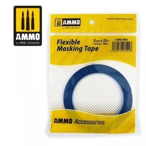 AMMO of Mig Jimenez 8042 Flexible Masking Tape (3mm x 33m)