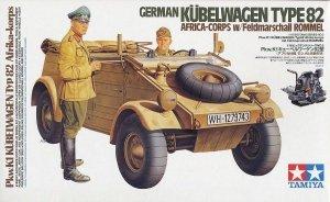 Tamiya 36202 German Kubelwagen Type 82 Africa Corps 1/16