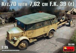 MiniArt 35189 Kfz.70 & 7,62 cm F.K. 39 (r) 1/35