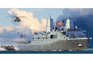 Hobby Boss 83415 USS Forrest Sherman DDG-98 1/700