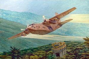 Roden 057 Fairchild C-123K / UC-123K 1/72