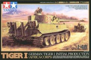 Tamiya 32529 German Tiger I Initial Production (1:48)