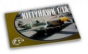Rossagraph Model Detail Photo Monograph No. 14 - Kittyhawk I / IA PL/EN