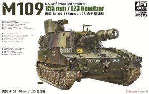 AFV Club 35329 M109 155mm L23 howitzer 1/35