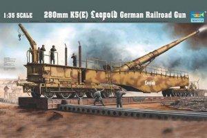 Trumpeter 00207 German 280mm K5(E)leopold (1:35)