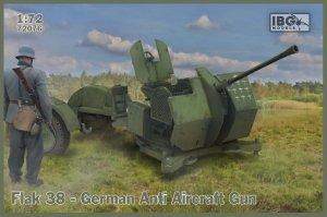 IBG 72076 Flak 38 German Anti Aircraft Gun (2 in the box) 1/72