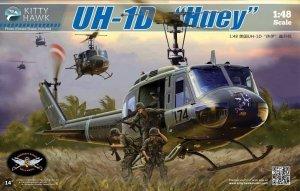 Kitty Hawk 80154 UH-1D Huey (1:48)
