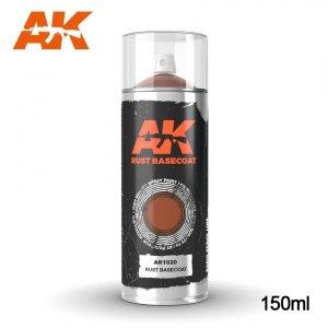 AK Interactive AK 1020 RUST BASECOAT SPRAY 150ml