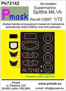 P-Mask PK72142 Supermarine Spitfire Mk.Vb (Revell 03897) 1/72
