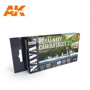 AK Interactive AK 5040 ROYAL NAVY CAMOUFLAGES 2 – NAVAL SERIES SET 6x17ml