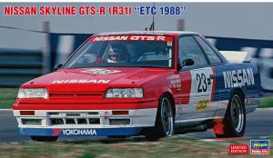 Hasegawa 20495 Nissan Skyline GTS-R (R31) `ETC 1988` 1/24