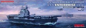 Meng Model PS-005 U.S. Navy aircraft carrier Enterprise (CV-6) 1/700
