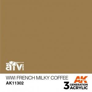 AK-Interactive AK 11302 WWI French Milky Coffee 17ml